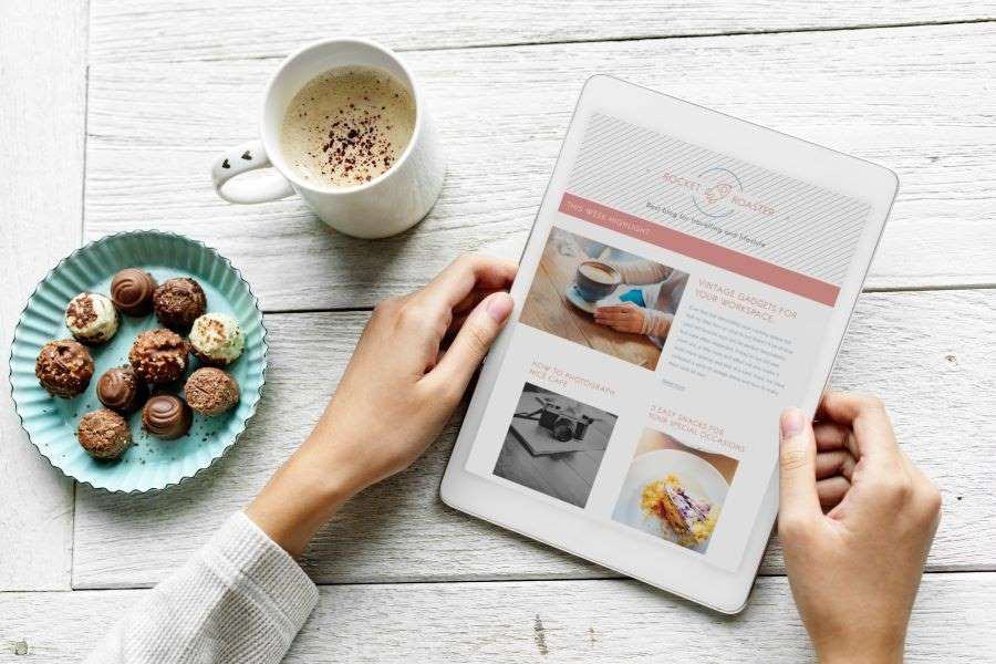 Responsive website development for a small UK baking company